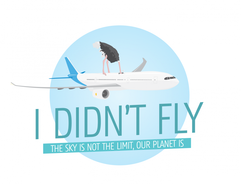 "Bewustwording: ""I didn't fly ""campagne"